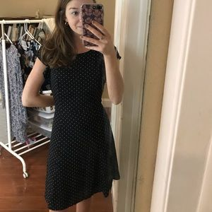 Professional polka dot dress